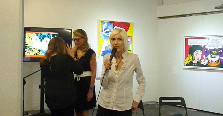 Presentazione del terzo numero del magazine Eudonna presso MICRO|Arti Visive, 26 giugno 2017, Mariapia Ciaghi