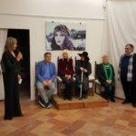 Faenza, 10 marzo 2018, Le Nostre Donne, Bipersonale di Guido Angeletti e Franco La Spada con esposizione di esemplari dei gioielli in ceramica di MUKY.