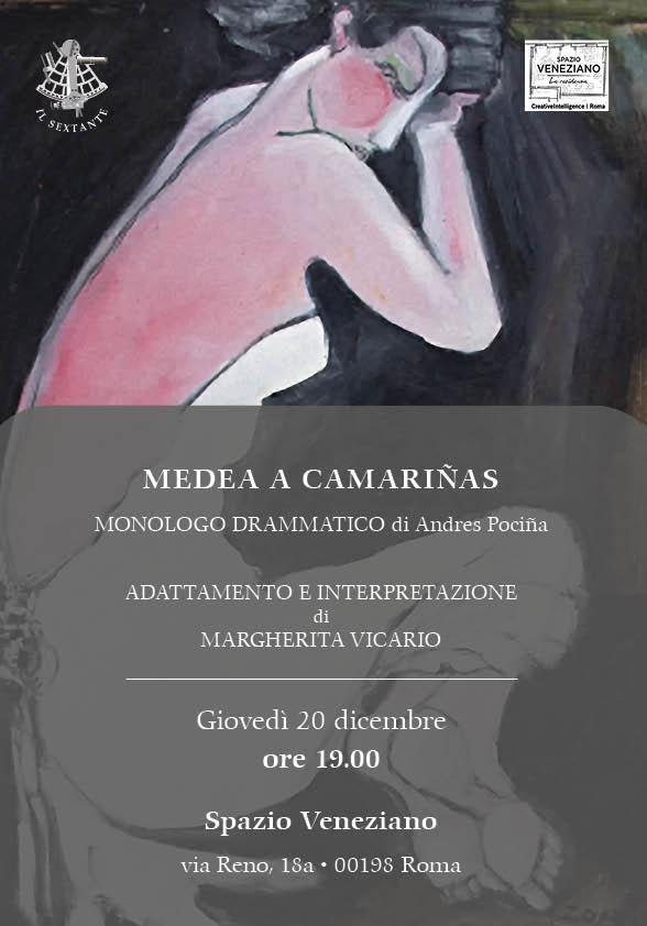 Medea a Camariñas. Monologo drammatico di Andrés Pociña.