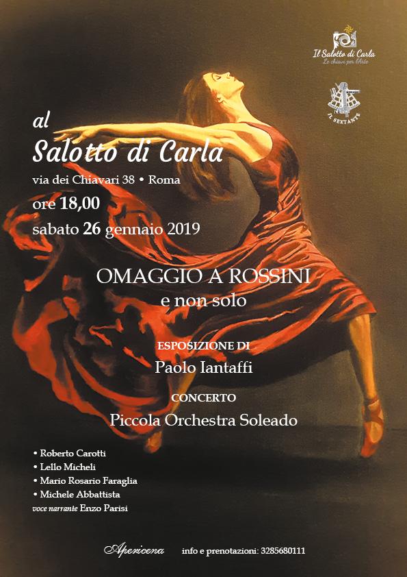 Omaggio a Rossini, Roma