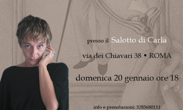 Dorian Gray letto da Federica Bassetti, Il Salotto di Carla, Roma