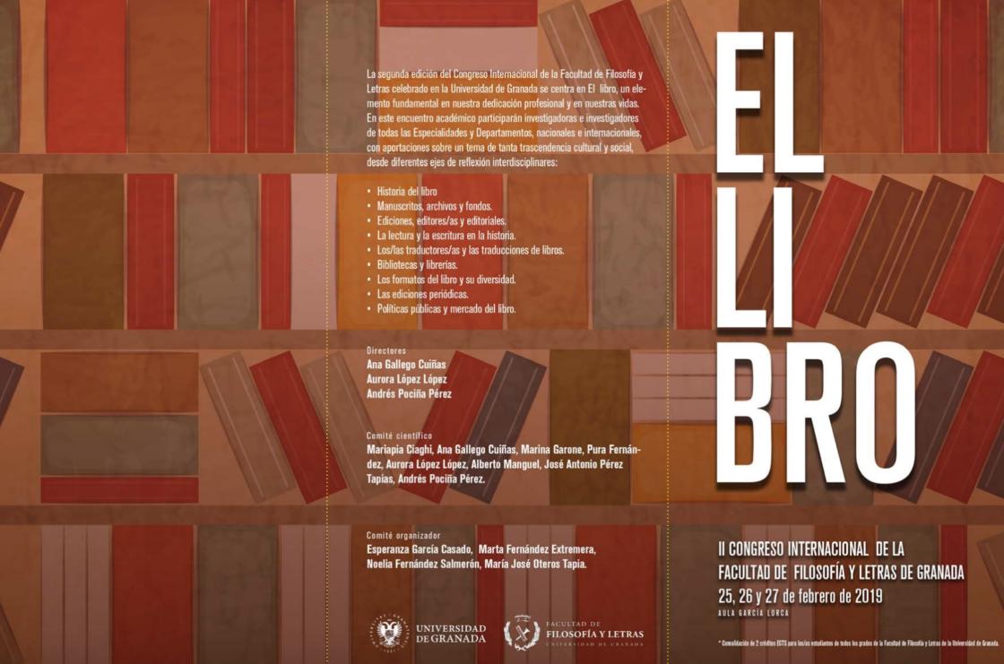 EL LIBRO. II Congreso Internacional de la Facultad de Filosofía y Letras