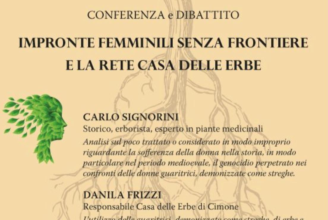 Impronte Femminili senza Frontiere e la Rete Casa delle Erbe