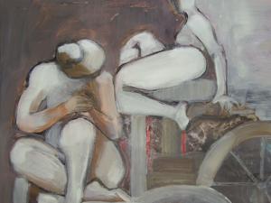 En la fuente, Ana Erra, copertina di La Fontana/La Fuente, Andrés Pociña, Il Sextante