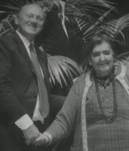 Giuseppe Strazzi e Alda Merini